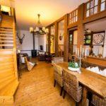 Ferienwohnung Altes Forsthaus - Gemütlich im Essbereich