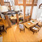 Ferienwohnung Altes Forsthaus - Schöner überblick auf den Aufenthaltsbereich
