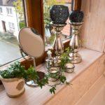 Ferienwohnung Altes Forsthaus - Spiegel am Fenster