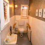 Ferienwohnung Altes Forsthaus - Kleines WC im Eingangsbereich
