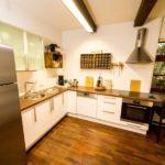 Ferienwohnung Altes Forsthaus - Eine Große Küche für gemeinsames Kochen