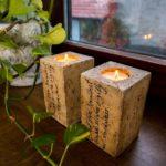 Ferienwohnung am Schloß 1 - Romantische Kerzendeko