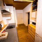 Ferienwohnung am Schloß 1 - Küchenausblicke zum Flur