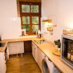 Ferienwohnung am Schloß - Küche in der Ferienwohnung