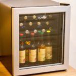 Ferienwohnung am Schloß - Viele Getränke im Kühlschrank