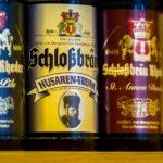 Ferienwohnung am Schloß - Nahansicht Getränkeflaschen