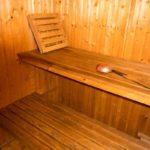Ferienwohnung am Schloß - Sauna Innenbereich
