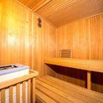 Landhaus am Himmelsberg - Saunabereich Innenansicht