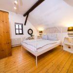 Landhaus am Schloß - zweites Schlafzimmer mit viel Platz