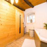 Landhaus am Schloß - Gemütliche Sauna zum entspannen