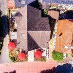 Landhaus am Schlosspark - Ansicht aus der Vogelperspektive