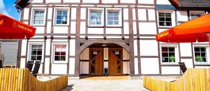 Landhaus am Schlosspark - Außenansicht