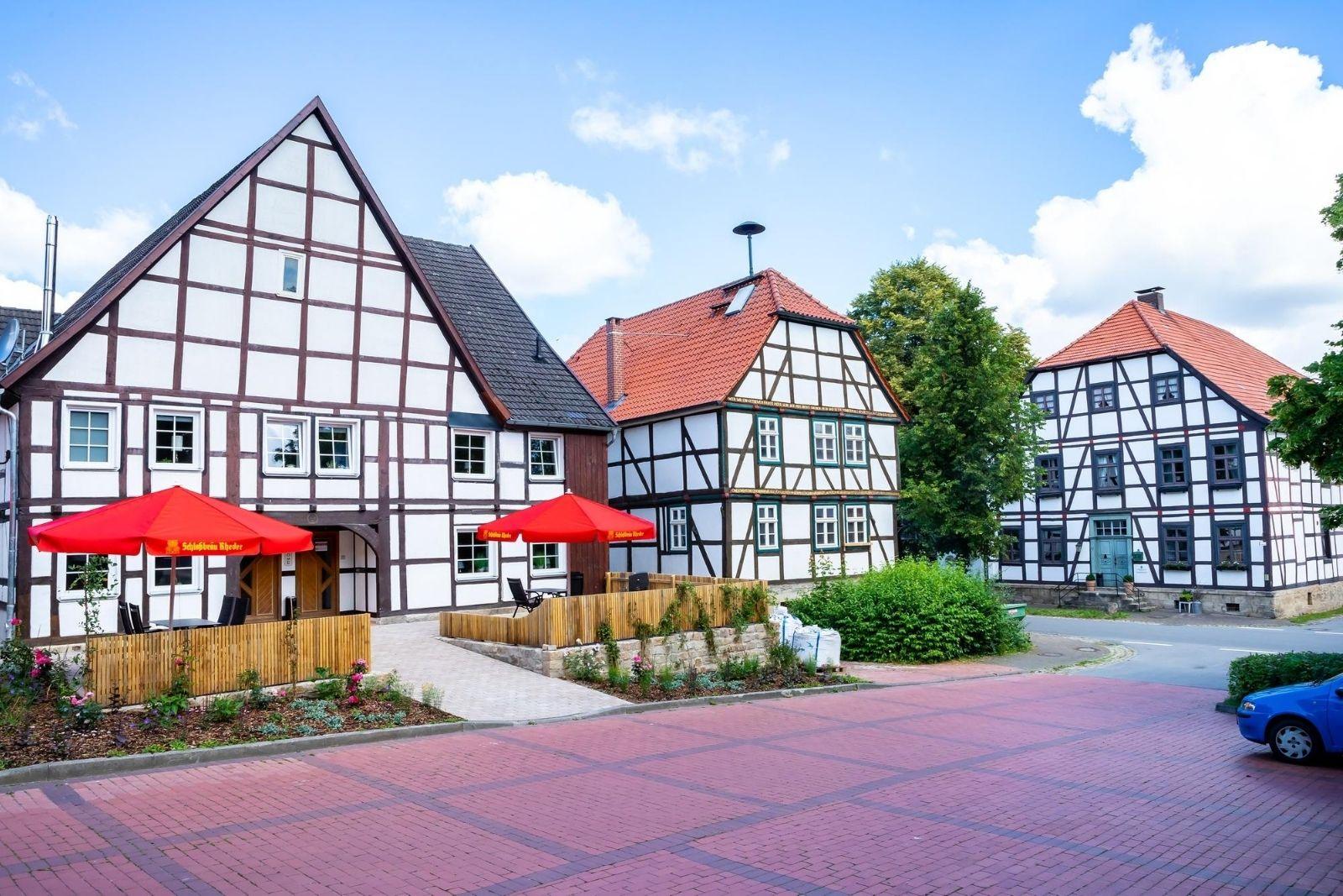 Landhaus Urlaub in Gehrden - schöne Unterkünfte am Schloss